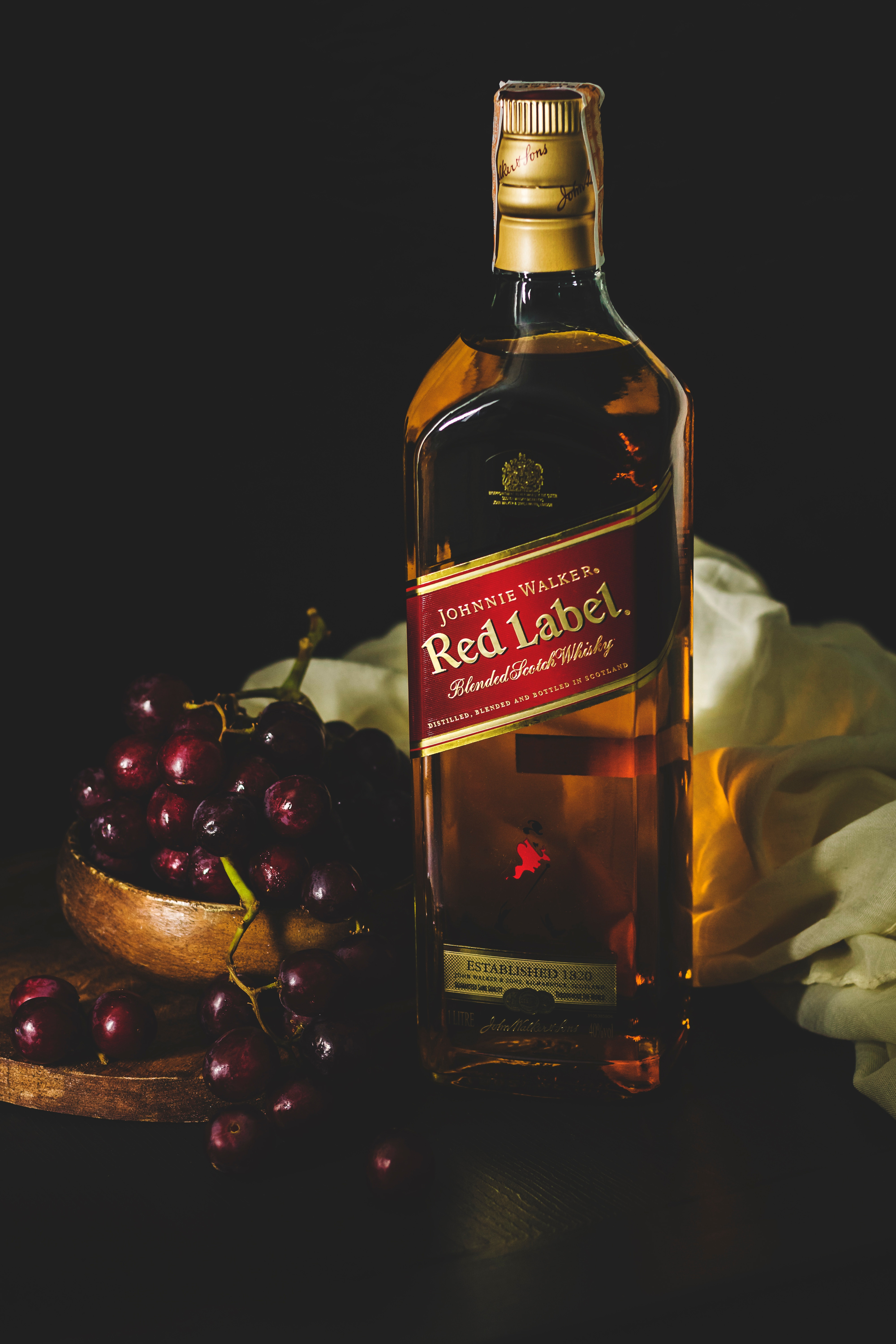 This is a photo of Exhilarating Black Label Red Label Difference