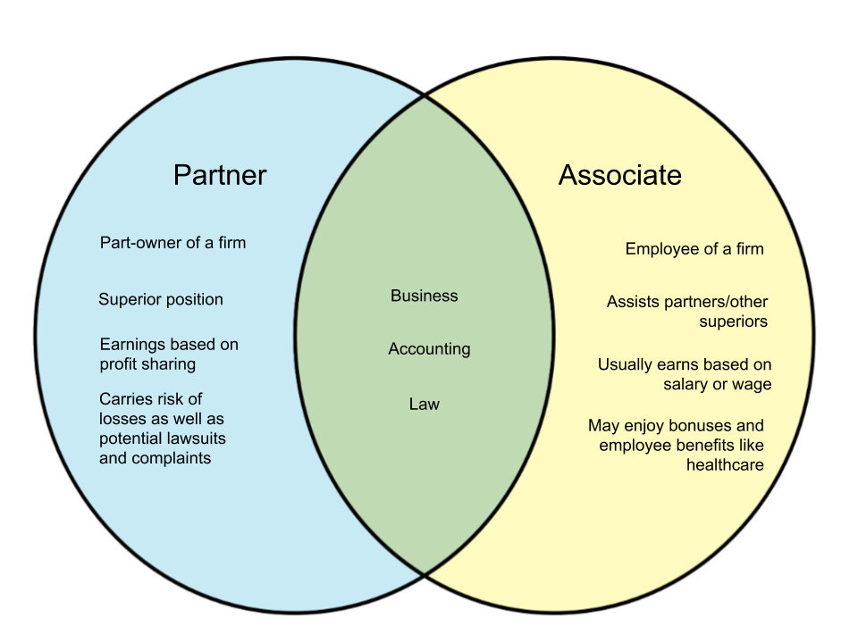 Difference Between Partner and Associate